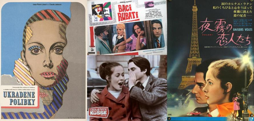 affiches_posters_Baisers_voles_Baci_rubati_Ukradene_polibky_Stolen_Kisses_Claude_Jade_Francois_Truffaut