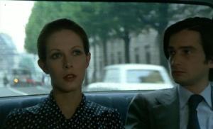 """Claude Jade et Jean-Pierre Léaud dans """"L'amour en fuite"""" (1979)"""