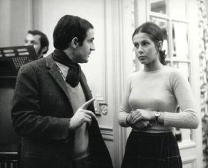 François Truffaut et Claude Jade