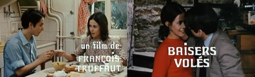 Claude Jade Jean-Pierre Leaud Baisers volés Francois Truffaut Geraubte Küsse Stolen Kisses