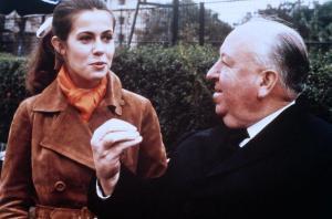 """Claude Jade, Alfred Hitchcock """"Topaz"""""""