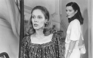 """Claude Jade et Marie-France Pisier dans """"L'Amour en fuite"""""""
