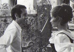 """Édouard Molinaro et Claude Jade """"Mon oncle Benjamin"""""""