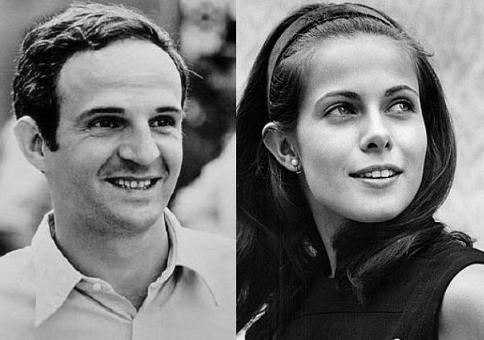 Die Verlobten des Jahres 1968: François Truffaut, Claude Jade