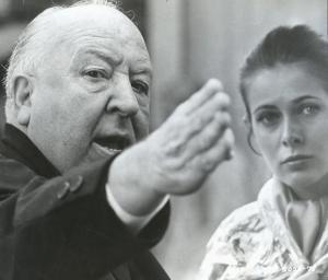 Alfred Hitchcock. Claude Jade