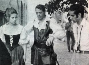 Jacques Brel, Claude Jade et Édouard Molinaro