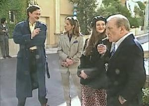 "Jean-Daniel Verhaeghe, Claude Jade, Alexandra London et Jean Carmet - ""Eugénie Grandet"" 1994"