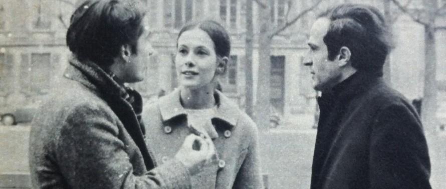 Jean-Pierre Léaud Claude Jade Francois Truffaut Antoine Doinel Baisers voles Christine Darbon Nouvelle Vague 1968 Cinematheque francaise