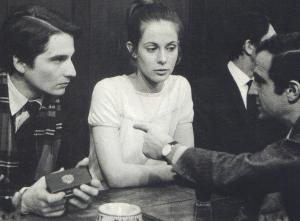 "Jean-Pierre Léaud, Claude Jade, François Truffaut ""Baisers volés"""