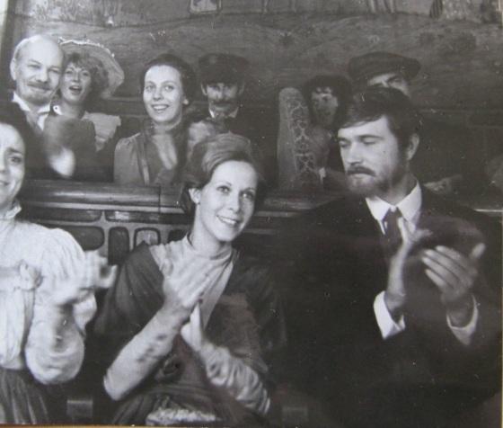 Claude Jade Avec Vladimir Antonik et Yuri Kayurov et Valentina Svetlova