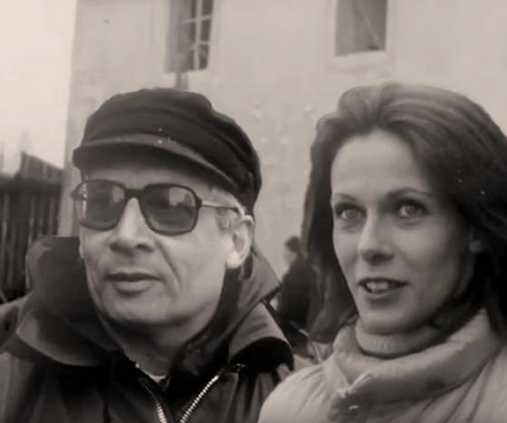 Bernard Toublanc-Michel et l'actrice Claude Jade, Bernard Toublanc-Michel;