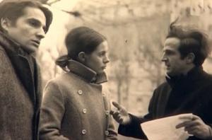 "Jean-Pierre Léaud, Claude Jade. François Truffaut ""Baisers volés"""