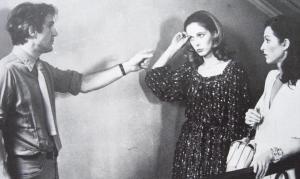 """François Truffaut, Claude Jade, Marie-France Pisier """"L'amour en fuite"""""""