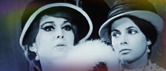 """Luce Garcia-Ville und Claude Jade in Sacha Pitoëffs """"Henri IV"""""""