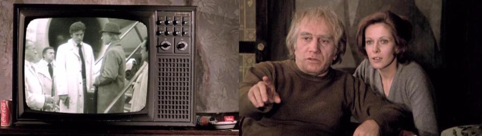 Inspektor Foche (Alain Delon) übernimmt den Ausstausch der Geiseln - Max erkennt in den TV-Nachrichten Scherner und warnt Françoise.