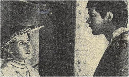 Inessa Armand (Claude Jade) und Sascha Trofimov (Vladimir Antonik)