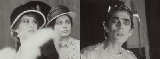 """Luce Garcia-Ville, Claude Jade und Sacha Pitoëff in """"Henri IV"""""""