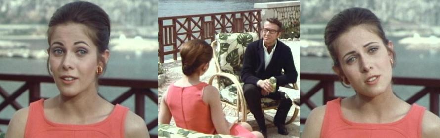 "Claude Jade stellt Michel Auclair eine raffinierte Falle: ""Sous le signe de Monte-Cristo"""