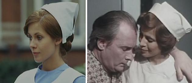 """Claude Jade 1973 in """"Trautes Heim"""" und 1976 in """"Zwischen Tod und Leben"""""""