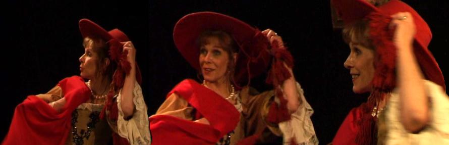 Claude Jade Celimene et le cardinal piece Moliere misanthrope Jacques Rampal theatre
