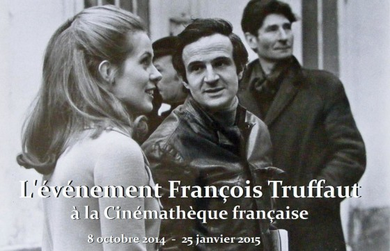 Francois Truffaut Cinematheque francaise 2014 evenement exposition retrospective 2014 Claude Jade