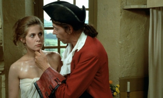 Jacques Brel et Claude Jade dans Mon oncle Benjamin