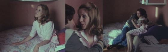 Claude Jade mit Michel Creton in ihrem ersten Film nach Pierres Geburt