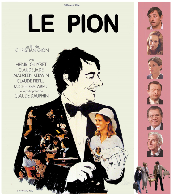 Le Pion, film de Christian Gion 1978, avec Henri Gubyet, Claude Jade, Claude Pieplu, Maureen Kerwin, Michel Gallabru et Cllaude Dauphin, Ein Pauker zum Verlieben, Constantin Film