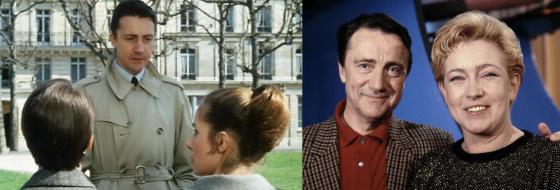 Serge Rousseau, Claude Jade, Marie Dubois, Jean-Pierre Léaud