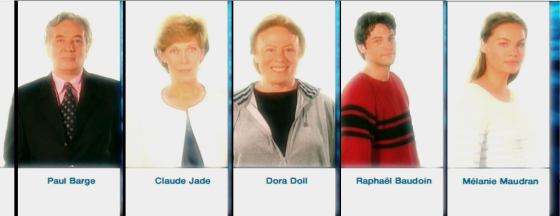 Paul Barge, Claude Jade, Dora Doll, Raphael Baudoin, Melanie Maudran, Cap des Pins, Dora Doll, Cap des Pins