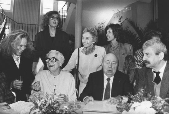 Dora Doll, Arletty, Nicole Courcel, Suzanne Flon, Marcel Carné, Claude Jade, Yves Robert 1987