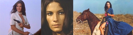 "Nicoletta Machiavelli ""Navajo Joe"" ""Giarrettiera Colt"" Spaghetti Western"