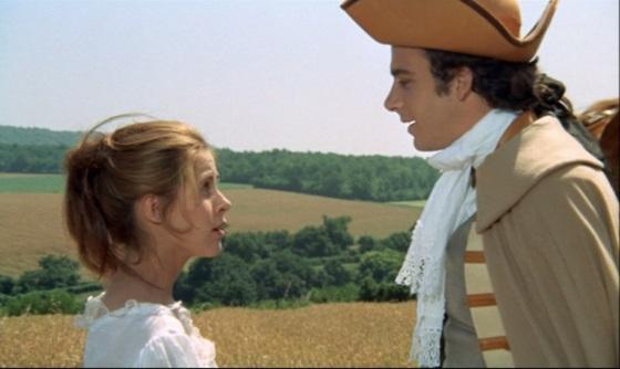 """Claude Jade und Bernard Alane in """"Mein Onkel Benjamin"""" Mon oncle Benjamin"""