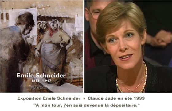 Emile Schneider, peintre illustre Alsace Strasbourg Claude Jade musee Haguenau