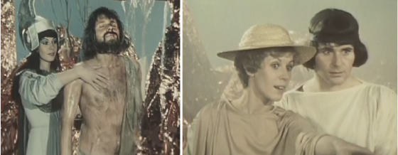 "Claude Jade und Maxence Mailfort in ""Ulysse est revenu"""