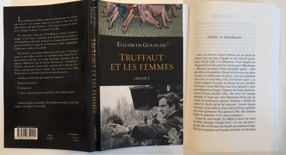 Truffaut et les femmes, Elizabeth Gouslan, Editions Grasset, François Truffaut, Claude Jade