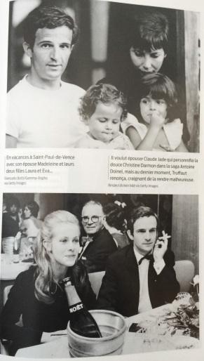 François Truffaut, Madeleine Morgenstern Truffaut, Eva Truffaut, Laura Truffaut, Claude Jade, Moët & Chandon