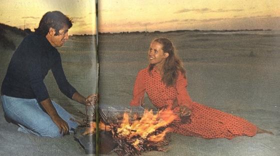 Bernard Coste und Claude Jade