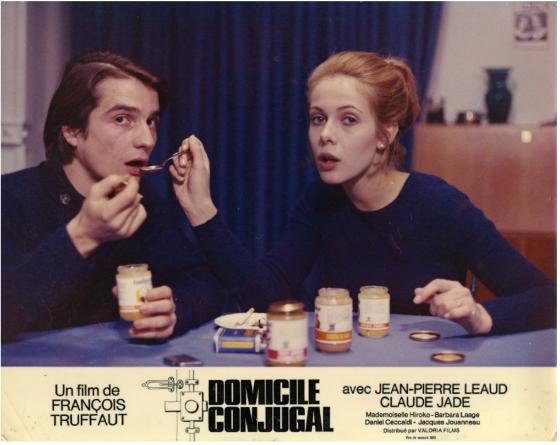 Palme d'or d'honneur Cannes 2016 Jean-Pierre Léaud Claude Jade Antoine Doinel Domicile conjugal Francois Truffaut