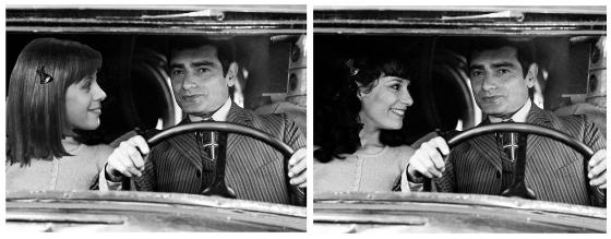 Claude Jade erschien Truffaut zu jung und er gab die Rolle Bernadette Lafont