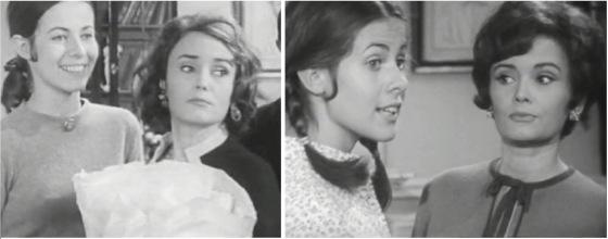 """Claude Jade und Anna Gaylor in der Serie """"les oiseaux rares"""""""