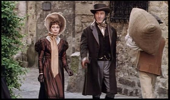 """Claude Jade und Pierre Vernier in """"Eugénie Grandet"""" (1994)"""