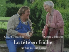 La tete en friche Gisele Casadesus Gerard depardieu