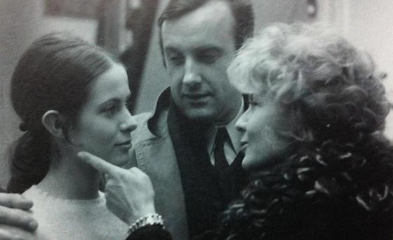 "Claude Jade, Daniel Ceccaldi und Claire Duhamel in ""Geraubte Küsse"""