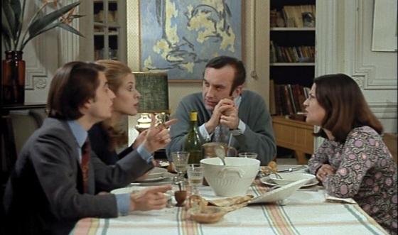 Jean-Pierre Leaud, Claude Jade, Daniel Ceccaldi, Claire Duhamel. Domicile conjugal. 1970