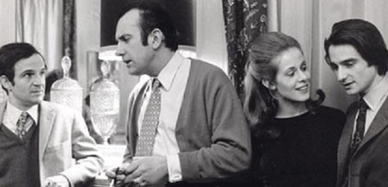 François Truffaut, Daniel Ceccaldi, Claude Jade, jean-Pierre Léaud