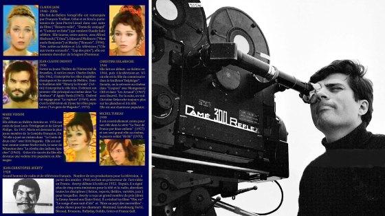 Dank Averty die ersten Video-Schauspieler der französischen Fernsehgeschichte Midsummer Night's Dream Helena Le songe d'une nuit d'été Ein Sommernachtstraum