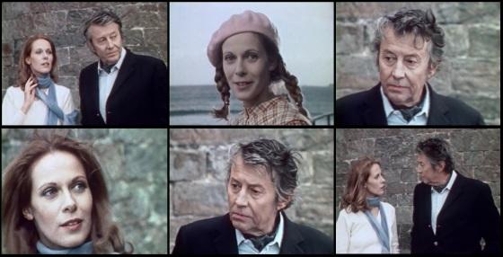 """Claude Jade und Michel Auclair in Henri Helmans """"Lise et Laura"""""""