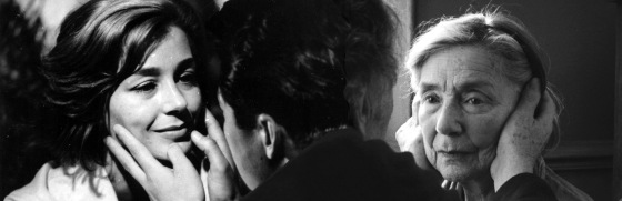 "Emmanuelle Riva in ""Hiroshima mon amour"" (1959) und ""Liebe"" (2012)"