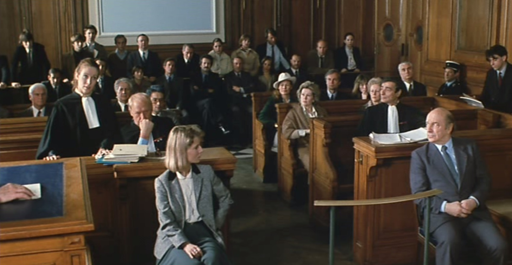 Honneur d'un capitaine, film de Pierre Schoendoerffer, Claude Jade, Charles Denner, Nicole Garcia